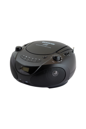 Boombox CD/Radio/MP3/USB Black ABB200B