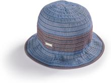 Klockformad hatt från Seeberger blå