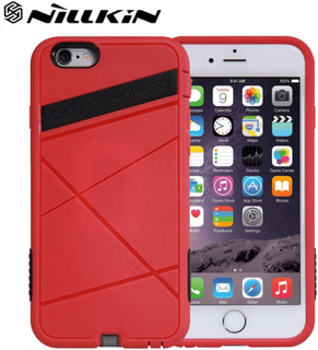 Nillkin super power qi-skal till apple iphone 6 / 6s - röd