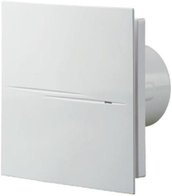 Duka Pro 70TH Ventilator med hygrostat & timer Ø100 mm, Hvit