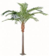 Stort kunstigt palmetræ H440 cm