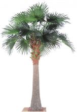 Stort kunstigt palmetræ H390 cm