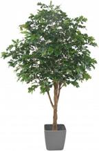 Stort kunstigt egetræ H280 cm