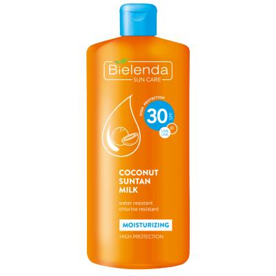 Bielenda Moisturizing Coconut Suntan Milk SPF30 200 ml