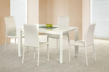 Nesto utdragbart matbord 130-210 cm - Vit