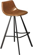 2 st Pitch barstol - Ljusbrun / svart