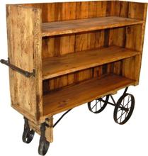 Strömstad - Biblioteksvagn (vintage)