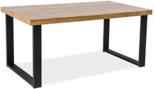 Matbord Aubrianna 150 cm - Svart/ek