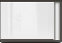 Link väggskåp - Grå/vit