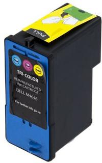 WL Blækpatron, erstatter Dell M4646, 3-farve, 19,8 ml