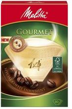 Melitta Melitta Kaffefilter Gourmet 1x4 80-p 4006508190751 Replace: N/AMelitta Melitta Kaffefilter Gourmet 1x4 80-p