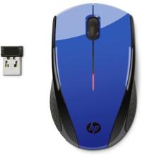HP HP X3000 Trådløs mus, Cobalt Blue
