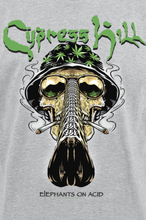 Cypress Hill - Fear & Loathing -T-skjorte - gråmelert