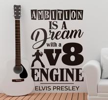 Quote stickers Elvis Presley