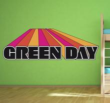 Sticker logo green day 3D