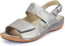Sandaler Heliett i äkta läder från Waldläufer grå