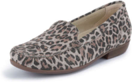 Loafers Hina i 100% skinn från Waldläufer beige