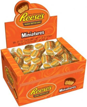 Reeses Peanut Butter Cup Miniatures 105st