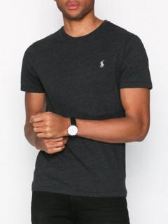 Polo Ralph Lauren Short Sleeve Jersey T-Shirt T-skjorter og singleter Svart