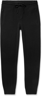 Tapered Baby Cashmere Sweatpants - Black