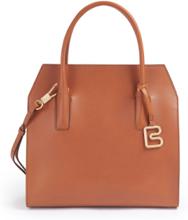 Handväska Cambridge i äkta läder från Bree blå