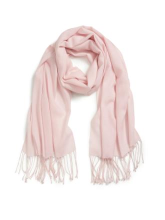 Halsduk för kvinnor i 100% kashmir från Peter Hahn Cashmere rosa