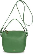 Väska i 100% läder för kvinnor, modell Roma från Aigner grön