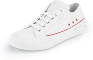 """Sneakers """"Capri"""" i äkta läder från Candice Cooper vit"""