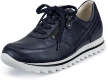 """Sneakers """"Haiba"""" i äkta läder från Waldläufer blå"""