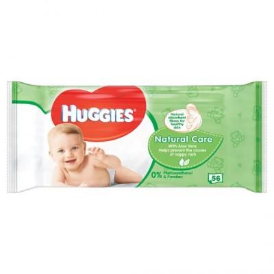 Huggies Baby-Feuchttücher Natürliche Pflege 56 stk