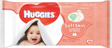 Huggies Baby Wipes Soft Skin 56 stk