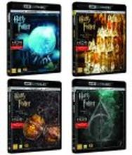 4 kpl Harry Potter - 4K Ultra HD + Blu-ray