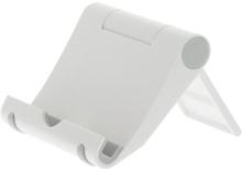 DELTACO DELTACO foldable pad stand, White plastic 7340004686545 Replace: N/ADELTACO DELTACO foldable pad stand, White plastic