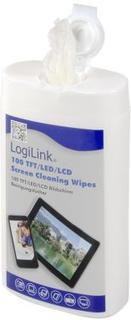 LogiLink LogiLink datorregöring våtservetter LCD/LED 100 st small RP0010 Replace: N/ALogiLink LogiLink datorregöring våtservetter LCD/LED 100 st small