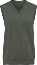 Slipover i 100% kashmir, modell Peter från Peter Hahn Cashmere grön