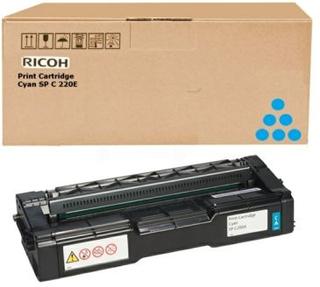 RICOH Tonerkassett cyan, 1.600 sidor 407544 Replace: N/ARICOH Tonerkassett cyan, 1.600 sidor