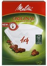 Melitta Melitta Kaffefilter 1x4 Vit 80-pack 4006508200450 Replace: N/AMelitta Melitta Kaffefilter 1x4 Vit 80-pack