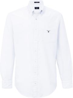 Skjorta button down-krage från GANT vit