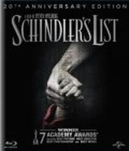 Schindlers List - 20th Anniversary Edition (Blu-ray)
