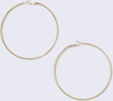 Gold Look Hoop Earrings