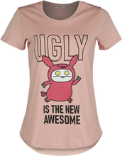 Ugly Dolls - Ugly Is The New Awesome -T-skjorte - lyserosa