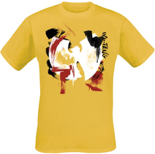 Wu-Tang Clan - Brush Strokes -T-skjorte - gul