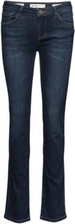 Athena Regular Jeans Lige Jeans Blå MOS MOSH