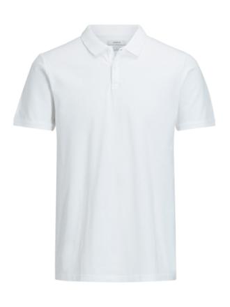 JACK & JONES Casual Polo Shirt Men White