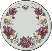 "13"" Tattoo Skyn ""Rock and Roses"" – Vit, Remo"