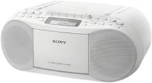 Boombox CD/Kassett/Radio Hvit CFDS70W