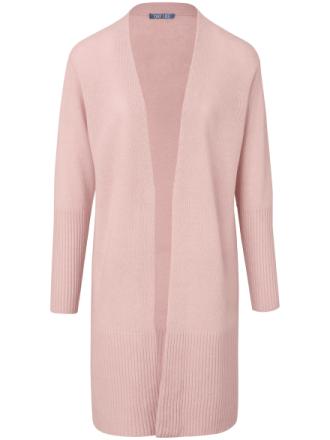 Stickad kofta i 100% ren ny ull från DAY.LIKE rosa