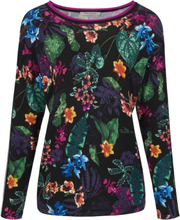 Strikbluse rund hals Fra Betty Barclay multicolor