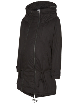 MAMA.LICIOUS 2-in-1 Padded Winter Maternity Coat Women Black