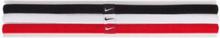 Nike Elastic Hairband 3-P Träningstillbehör Svart/Vit